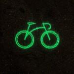 laser biciklis világítás