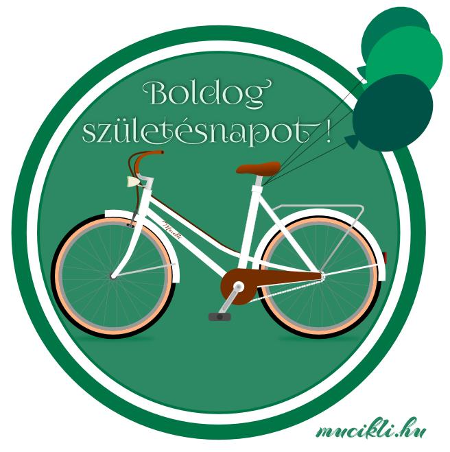 bicikli születésnap