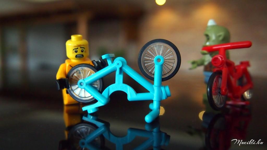 LEGO bicikli szerelés