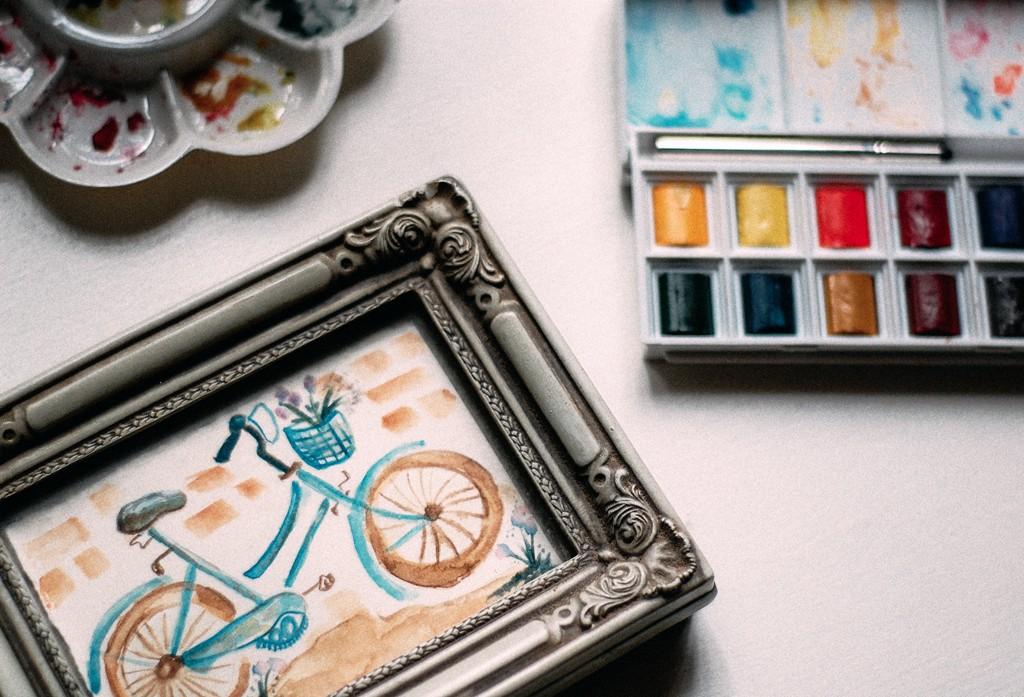 biciklis kép