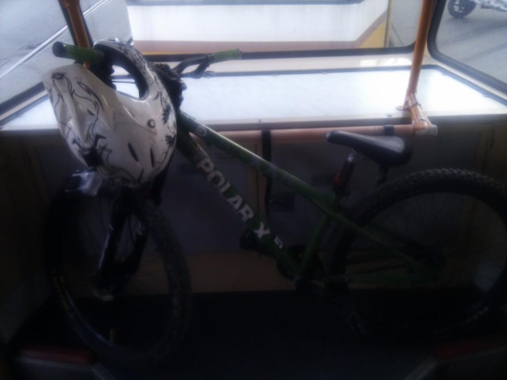Bicikli szállítás villamoson
