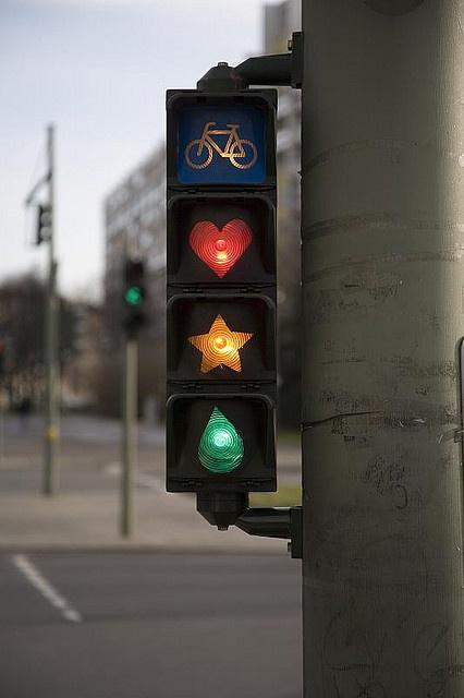 bicikli közlekedési lámpa vicces