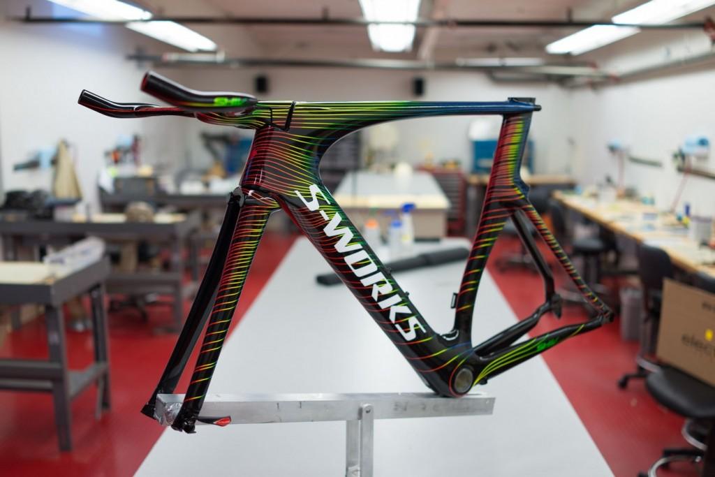 S-WORKS aero bicikli váz
