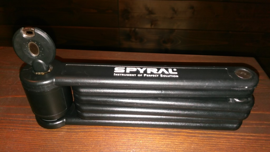 Spyral Zig-Zag colstok bicikli lakat
