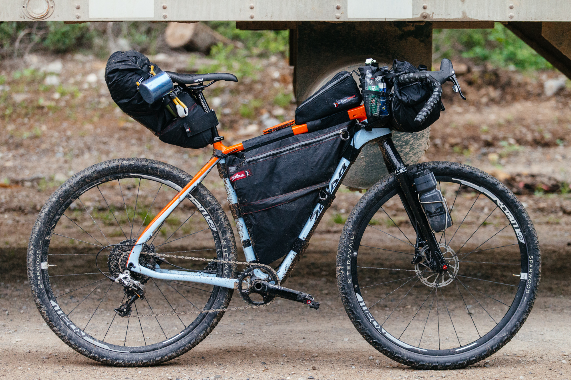 Salsa Cutthroat túra kerékpár