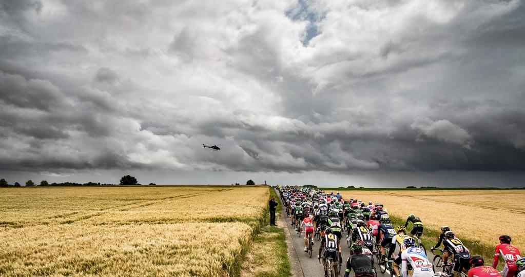 Tour De France 2015 esőfelhők