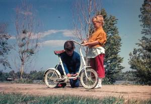 gyerek bicikli szereles 1976