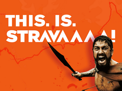this is strava!
