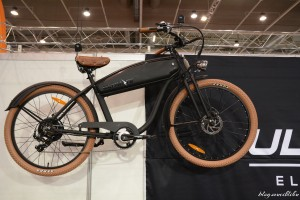 Ultimate elektromos retró hatású bicikli