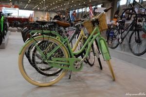 Vad zöld színű városi bringa