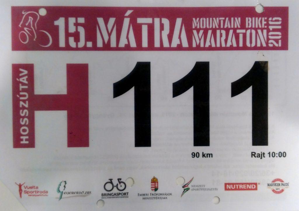 Mátra maraton 2016 H111