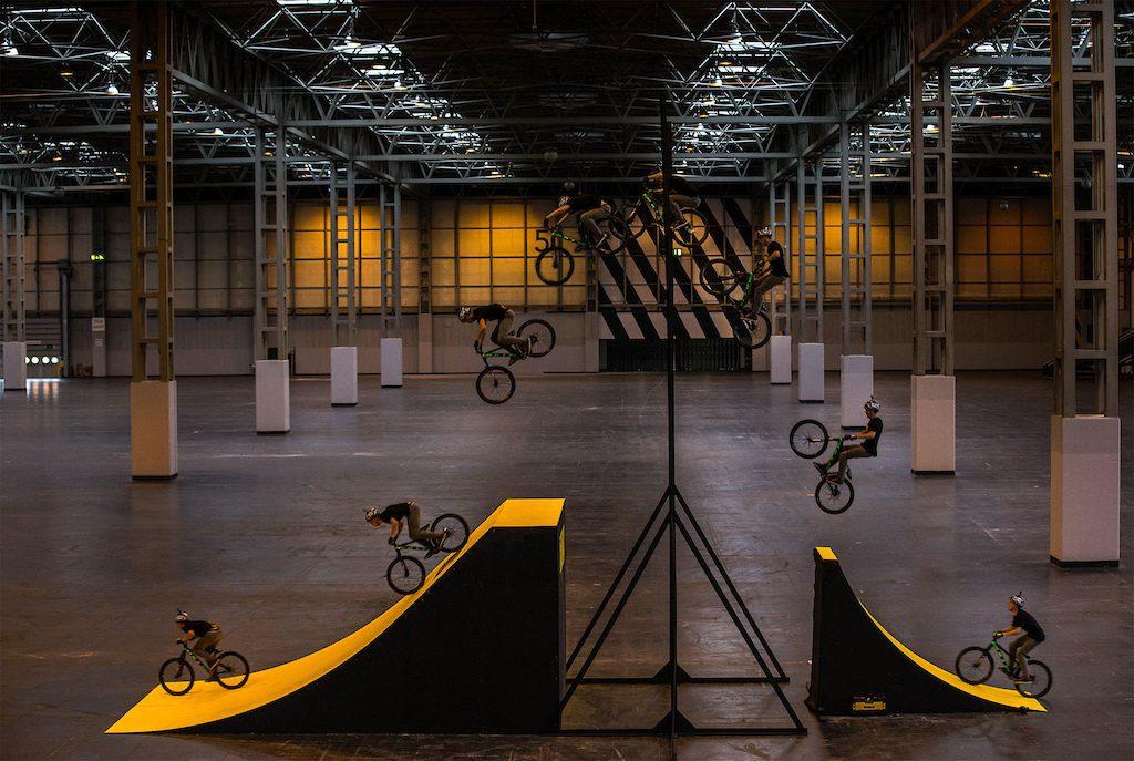 Daryl Brown biciklis magasugrás rekord