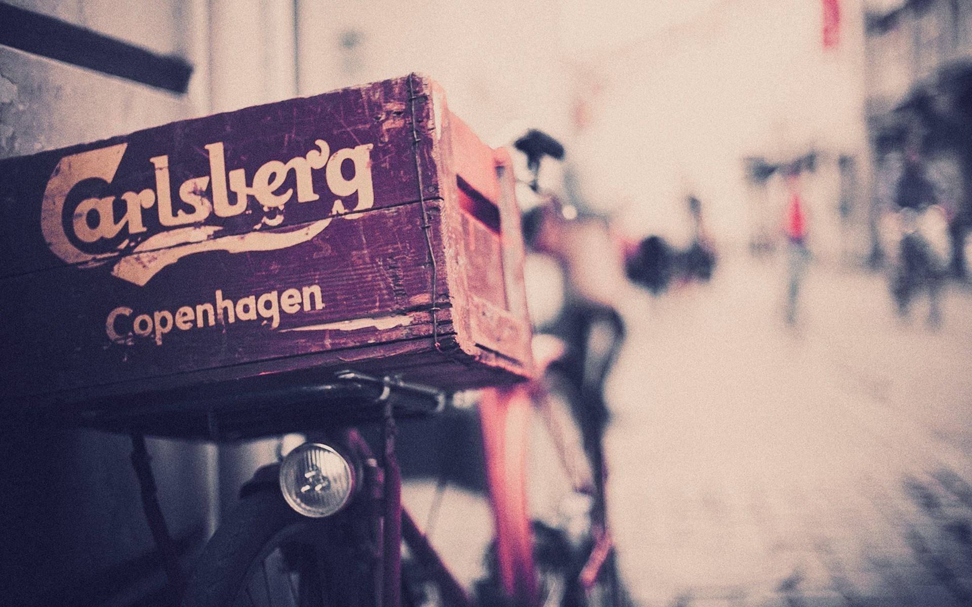 sör szállítás biciklivel