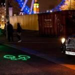 laser biciklis világítás 2