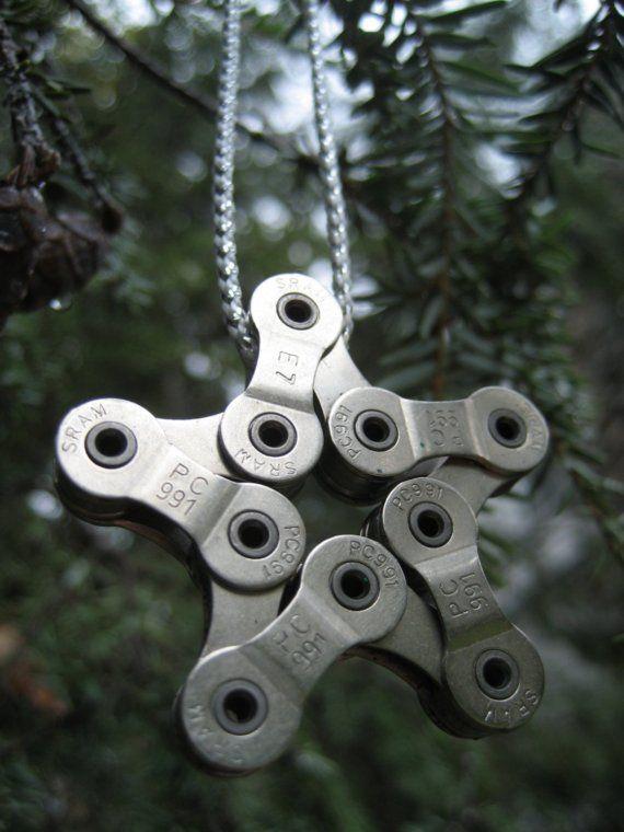 karácsonyfadísz lánc