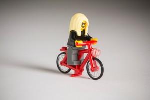 LEGO bicikli csaj