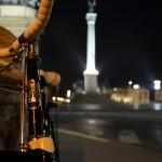 Csepel Mátra Budapest, Hősök tere éjjel - 7