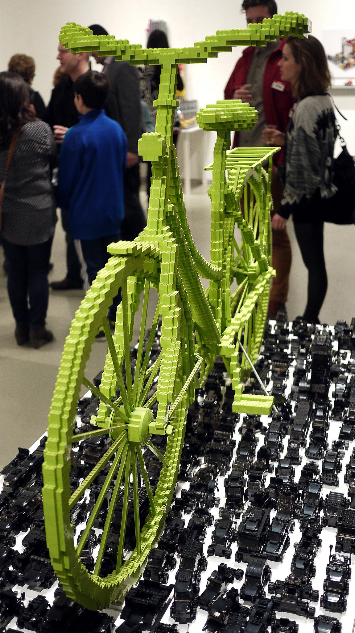 Nagy LEGO bicikli