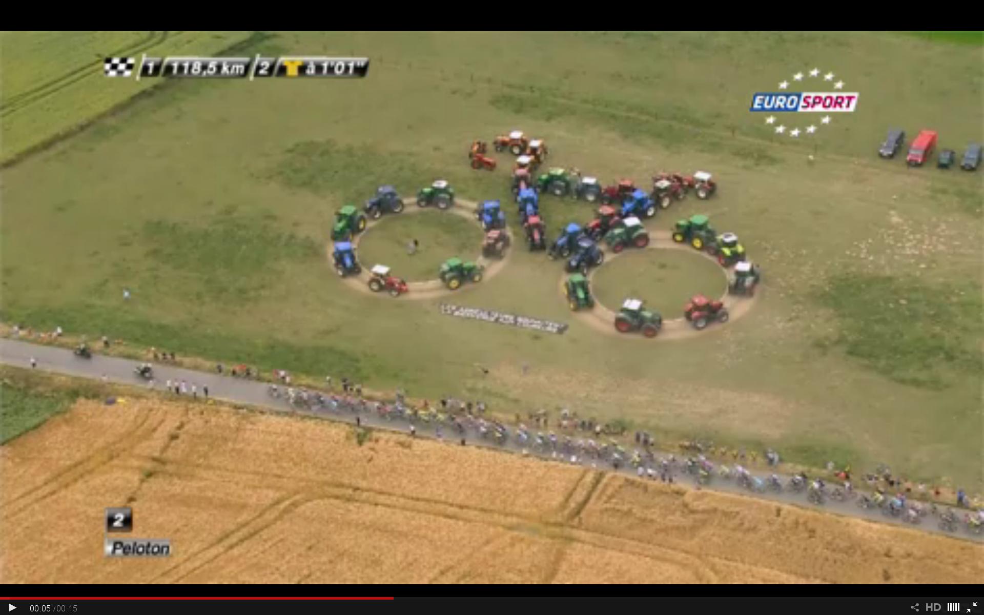 Tour De France 2015 traktorok