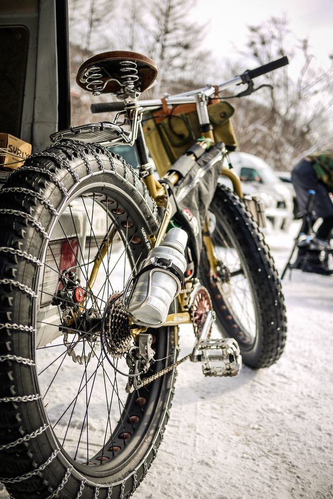fat bike hólánccal