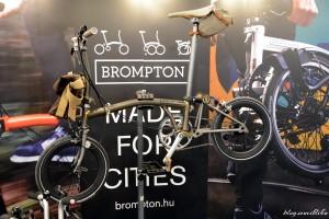 Brompton összecsukható bicikli