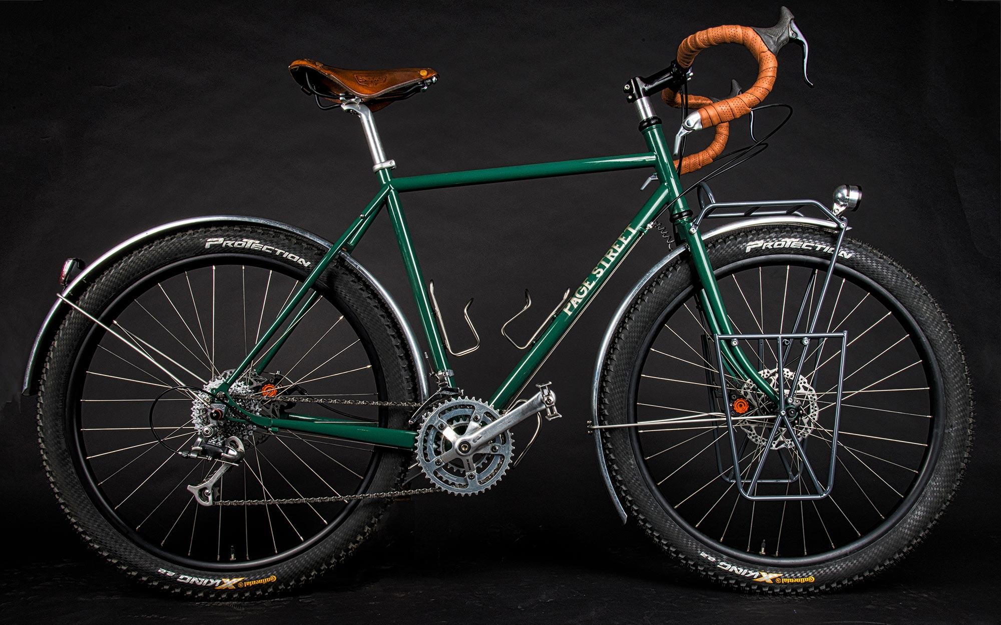 pagestreetcycles zöld túragép
