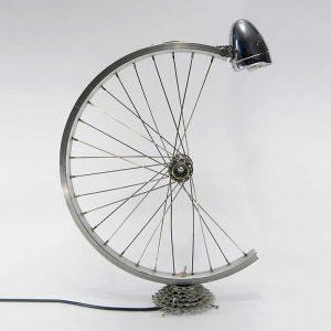bicikli kerék asztali lámpa 2