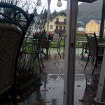 Bad Ischl cukrászda terasz